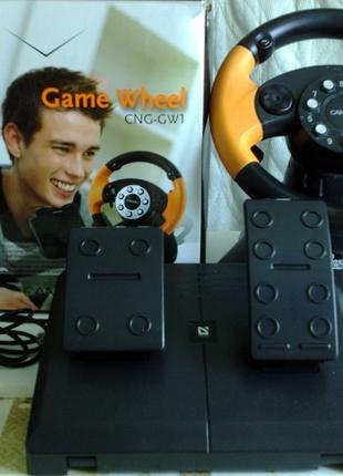 Игровая приставка-Game Wheel/модельCNG-GW1/руль USB PC