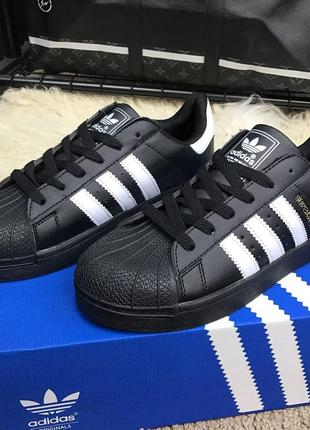 Adidas Superstar Core Black (ААА+)