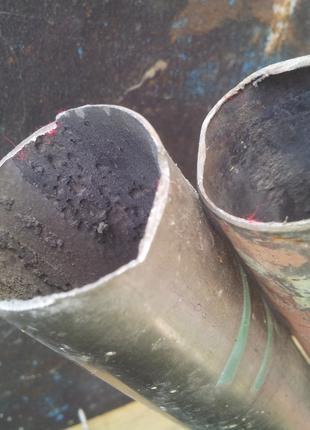 Трубы титановые БЕСШОВНЫЕ 2 шт. Диаметр 38 мм, стенка 1 мм
