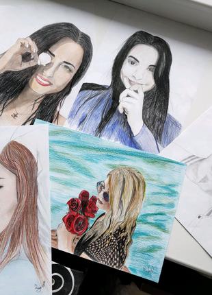 Рисую портреты и аватарки