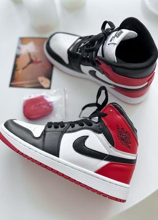 Кросівки nike air jordan retro red black ov кроссовки