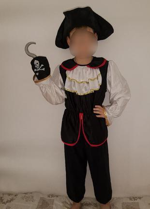 Карнавальный костюм детский пират капитан крюк хэллоуин