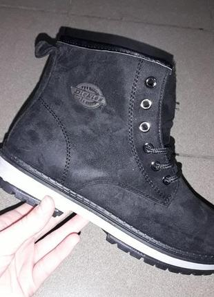 Деми с 36 по 41 рр на меху ботинки полусапожки зима женские
