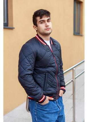 Демисезонный бомбер .мужская куртка осень - весна