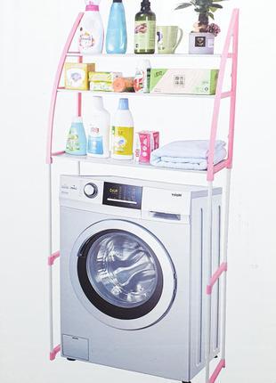 Стойка органайзер над стиральной машиной для ванной комнаты WM-63