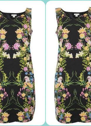 Шикарное летнее платье monsoon цветочный принт