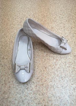 Туфли балетки atmosphere нежно-розовые бежевые
