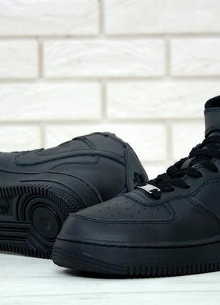 Комфортные мужские кроссовки  air for*ce black