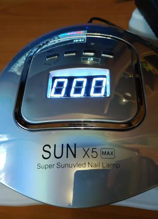 Лампа для ногтей Sun x5 max 80 вт