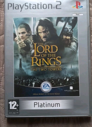 The Lord of the Rings: The Two Towers Platinum PS2 PlayStation 2