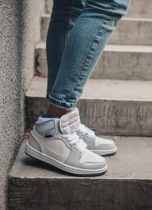 Кросівки nike air jordan retro white кроссовки