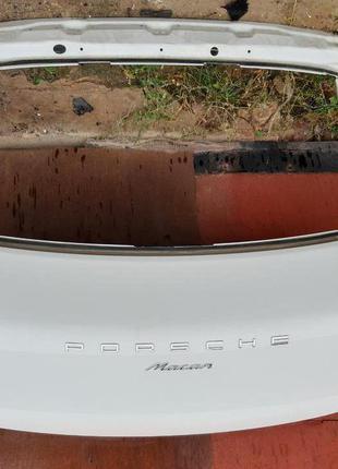 Porsche Macan крышка багажника 95B827025KYGRV