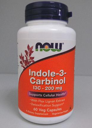 Индол-3-карбинол Now Foods, 200 мг, 60 капсул
