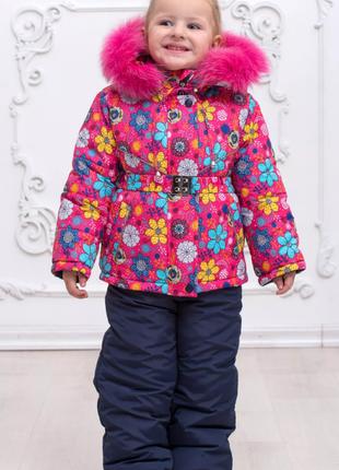 Комбинезон детский зимний для девочки