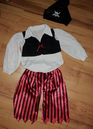 Карнавальный костюм детский пират