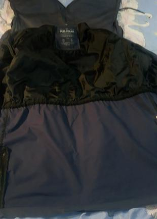 Куртка-дождевик-ветровка PULL&BEAR,ориг.,темносиняя,капюшон,р.48