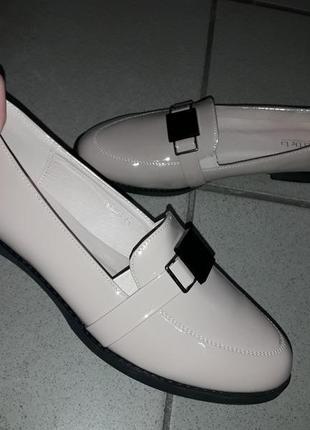 Туфли женские баталы низкий ход жіночі туфлі