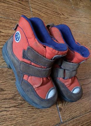 Ботинки на мальчика 27р весна демисезонные
