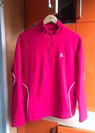 Флисовая кофта флиска odlo размер XL спортивная одежда