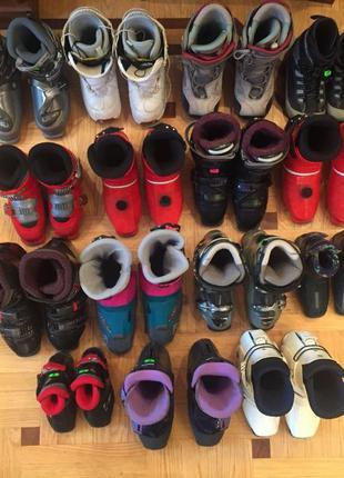 Горнолыжные лыжные ботинки Ботинки сноуборд ОПТОМ 15 пар
