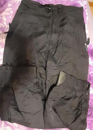 Зимние лыжние термо  штаны