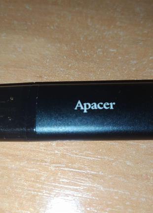 Флешка 32 ГБ Apacer AH23B Черная