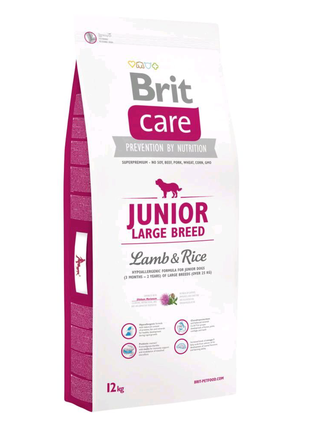 Сухой корм Brit Care Junior Large Breed Lamb&Rice