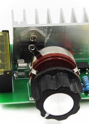 Регулятор напряжения, мощности, диммер 220В 4000Вт