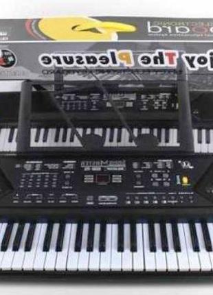 Синтезатор Пианино Музыкальный орган с микрофоном MQ 021 UF 61 кл