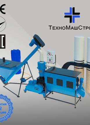 Оборудование для производства пеллет и комбикорма МЛГ-500 COMBI