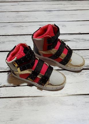 Стильные кожаные кеды хайтопы луноходы кеди supertrash кроссов...