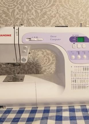 Продам компьютерную швейную машину JANOME DC3050.