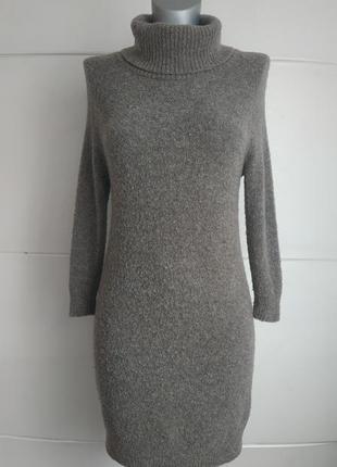 Стильное шерстяное платье- водолазка  paul costelloe