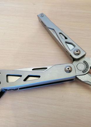 Мультитул WINOMO пасатижы, разводной ключь, нож, напильник, биты