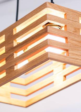 Дизайнерские Светильники З Дерева Люстра Підвісний AF102 Дуб Ясен