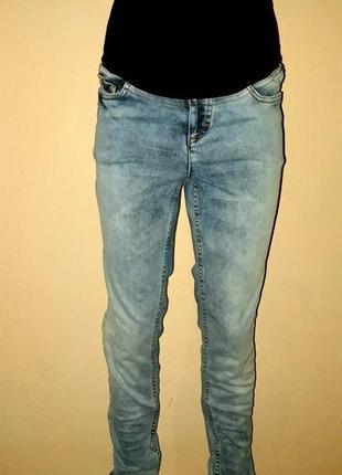 Стильні завужені джинси для вагітних