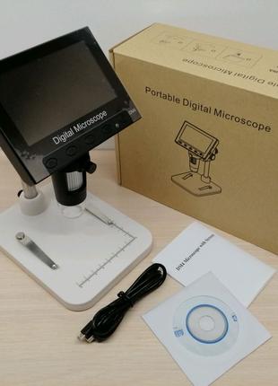 Микроскоп электронный DM-4 HD 1-800x с LCD дисплеем