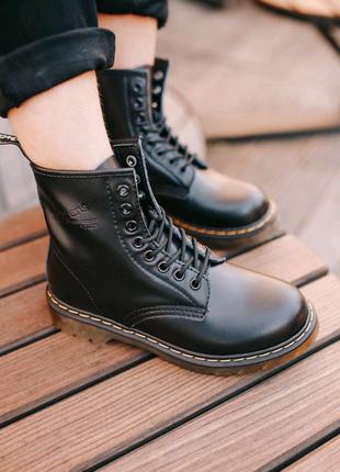 Мужские кожаные демисезонные ботинки dr.Martens