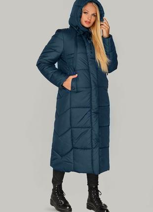 Размеры 44-54 Зимняя куртка пальто Элли волна
