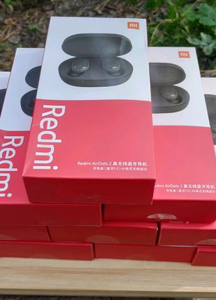 Xiaomi redmi airdots 2 + чехол на выбор