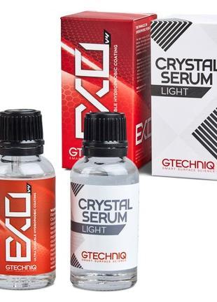 Gtechniq EXO and Crystal Serum Light захисне покриття для авто.