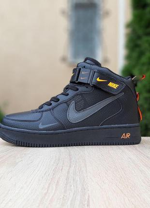 Зимние Женские Кроссовки Ботинки Nike Air Force 1 Mid LV8 (37-41)