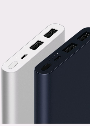 Xiaomi Mi Power Bank 2S 10000 mAh Silver (VXN4228CN)