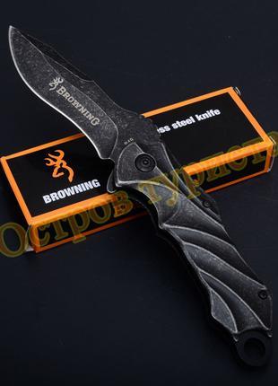 Нож складной Browning B49 полуавтомат
