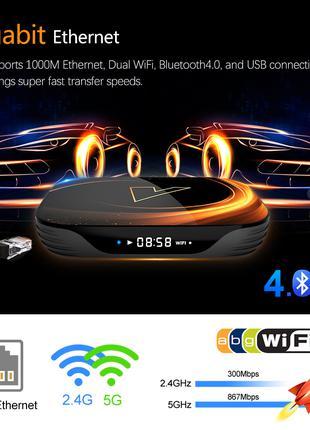 Smart box VONTAR X3 2020 8K Amlogic S905X3 4\32Gb Android 9.0