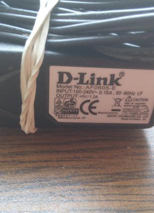 Блок питания для роутера D-Link 5V 1.2A AF0605-E