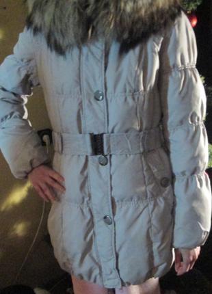 Пуховое пальто 400 грн.
