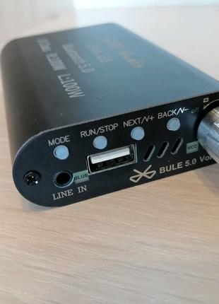 Усилитель цифровой VHM338 Mini 2x100W Bluetooth 5.0 USB