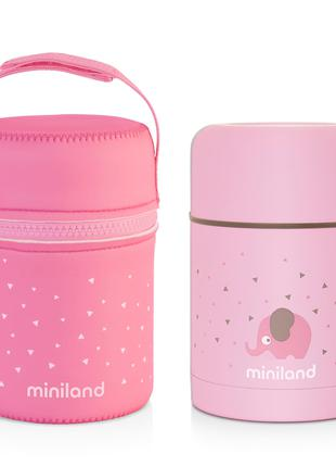 Детский термос для еды Miniland Silky Thermos на 600 мл