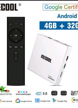 ⫸SmartTV Mecool KM9 Pro HONOUR 4gb/32гб android km1 km3 mi box s